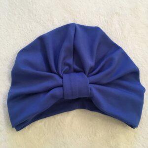 Hrubý turban v kráľovskej modrej by Sissque