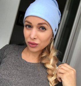 Bledomodrá imidžová čiapka by Sissque