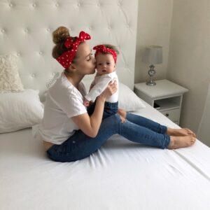Látkové imidžové šatky mama a dcéra HEARTS by Sissque a155e22e1c